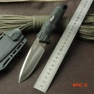 High quality Tactical Knife Walther Fixed 440C Blade Knife with Kydex Sheath Survival Hunt