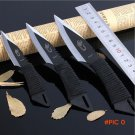 3 pcs set Survival Outdoor Hunting Camping Knives Stainless Steel Fixed Tactical Knife  to