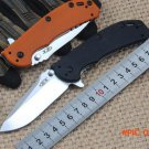 Folding knife ELMAX blade ZT0566BW Flipper bearing knife Survival camping tool Quality out