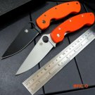 High quality  C36 folding knife  G10 handle 9Cr  steel blade knife  camping survival tool