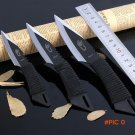 1 set 3 in 1 knife tactical fixed blade knife survival Outdoor Camping Knives Stainless St