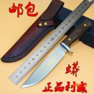 New LW Boa 2 Fixed Blade Straight Knife D2 Blade Tactical Camping Hunting Survival Knife E
