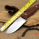 Italy LionSteel Tactical Fixed Knives,7Cr17Mov Blade Rosewood Handle Camping Survival Knife. BC780
