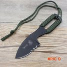High Quality Stainless steel Mini multifunction Knife Outdoor Rescue Camping Survive Knive