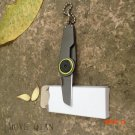 Outdoor portable keychain multi-tool knife EDC portable models 3cm engaging fastener foldi