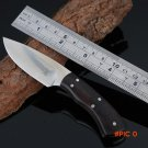 High quality Browning Ebony wooden handle hunting knife mini camping survival Tactical mul