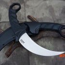 Grady Fung Clone Version Cold steel Tiger Fixed Blade Knives VG-1 Blade Tactical Claw Comb