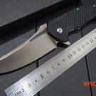 Custom MDF-1 Sanding Bearing washer tactical knife survival knives D2 white Blade camping