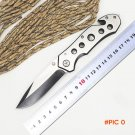 BMT Brand 073 Folding Survival Knife 57HRC Tactical knife outdoor camping hunting rescue p