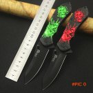 NEW!2 Colors Folding Blade Knife tactical folding knife 440C outdoor survival camping knif