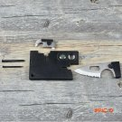 10 in 1 multifunction Credit Card knife Survival  Outdoor Hunting Camping Tools magnifying