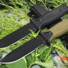 2 Options! 1500 Survival Fixed Knives,12C27 Steel Blade Hunting Knife,Camping Tactical Knife. BC887