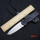 Newest Mini Outdoor Tactical Knife,440 Steel Fixed Blade Knife,Survival Straight Knives,Ca