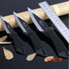 3pcs/Lot  Pocket Knife Tactical Fixed Blade Knife Survival Outdoor Hunting Camping Knives