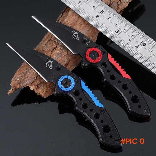 Jeslon Multifunction Folding Tactical Knife 59HRC Hardness Camping Knife Pocket Fruit Kniv