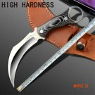 Karambit Knife United Claw Cutter Fixed Blade Knife Micarta Handle Tactical Knifes Camping