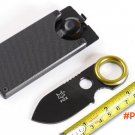 NEW! FOX Utility Small Buckle Knife,5CR15MOV Blade Outdoor Rescue Knives,Survival Tools. BC1023