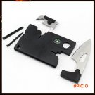 Card Knife Folding Knife Credit Card Tool Mini Wallet Camping Outdoor Pocket Tools 10 in 1