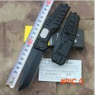 NEW  Black Cobra Design tactical folding knife 440C outdoor survival camping knife hunting