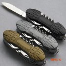 New Swiss 91mm Folding Knife Stainless Steel Multi Tool Army Knives Pocket Hunting Outdoor