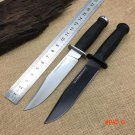 2 Options! Cold Steel Tactical Fixed Knives,D2 Blade ABS Handle Hunting Knife,Survival Kni
