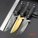 8.2 inch 5CR13 stainless steel high quality straight knife outdoor self-defense tactical s