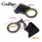 10pcs pack Pocket Seat Belt Rope Thread Cutter Hook Knife Key Ring Outdoor EDC Emergency S