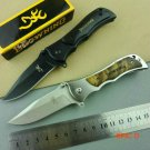 Hot Browning Survival Knife Folding Blade Knife Hunting Tactical Knives Pocket Camping Out