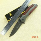 New Folding Knife Browning Pocket Knife 3CR13MOV Blade Survival Hunting Knifes Tactical Ca