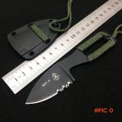 Hot Sale!! Tops Mini Tactical Knife,EDC Fixed Blade Knife,ABS Sheath Survival Knives Tools