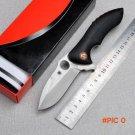 Kang&Yi C187 Folding knife Rubicon CPM-S30V G10 Handle Ball Bearing Flipper Camping Su