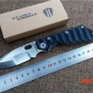 Folding knife ST 9cr18 blade outdoor tactical survival knife g10 handle EDC pocket utility