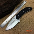 Tops SGT SCORPION D2 Blade Survival Fixed Knives G10 Handle Hunting Knife Camping Knife Ta