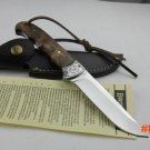 Hot Browning Fixed Blade Knife Survival Knifes  Hunting Tactical Knives With Leather Sheat