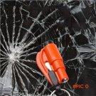 FREE DHL 50PCS/ LOT Mini Car Window Breaker Emergency Safety Hammer survival knife with Ke