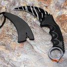 Real game Karambit Knife CSGO Counter Strike Neck Knife handmade hunting knives Fighting t