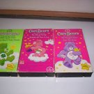 Care Bears VHS lot of 3