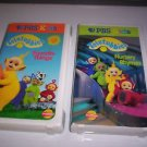 TELETUBBIES VHS - 2 TAPES! Nursery Rhymes / Favorite Things - PBS Kids