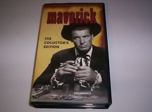 Maverick Collectible VHS  James Garner TV Series 1958-1959 2 Episodes