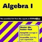 Cliff Quick Review Algebra 1 by Jerry Bobrow 2001 paperback ENGLISH