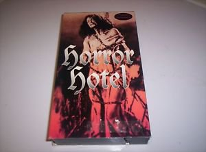 HORROR HOTEL DIGITALLY REMASTERED RARE VHS SALEM WITCH CHRISTOPHER LEE HALLOWEEN
