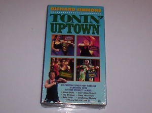 Richard Simmons TONIN' UPTOWN (1996) VHS Exercise Workout Fitness Tape
