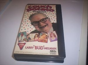 COUCH POTATO WORKOUT Larry Bud Melman Diet Tips Rap Song ++ 1989 VHS Video RARE