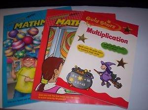 Highlights Mathmania 2 pack new paperbacks plus Gold Stars Multiplication