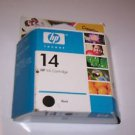 GENUINE HP 14 Black Ink Cartridge SEALED