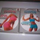 Gunnar Peterson Core Secrets: Head to Toe & Cardio (2005 DVD) NEW, UNOPENED
