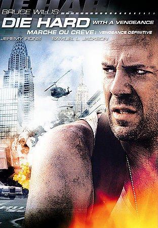 Die Hard with a Vengeance, New Sealed DVD, Bruce Willis, Samuel Jackson