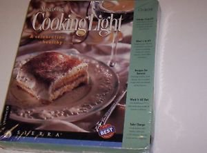 MasterCook Cooking Light CD Rom Cookbook Meal Planner Analyze Recipes NIB New
