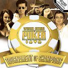 Playstation 2 • World Series of Poker Tournament of Champions • Video Games