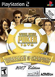 Playstation 2 � World Series of Poker Tournament of Champions � Video Games
